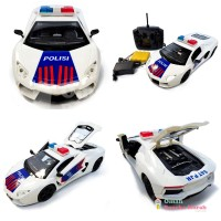 Mainan Remote Control Polisi Indonesia - RC Open Door (M69M922140)