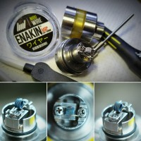 ENAKIN WIRE Fused Clapton Coil for MTL Ni80 Sweden Wire