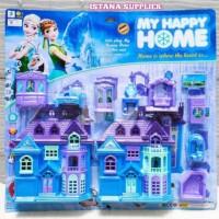 Mainan Edukasi Anak Perempuan Rumah Rumahan Frozen Unik Murah Terbaru