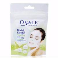Ovale facial mask bedak dingin for acne care 15gr