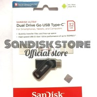 SanDisk Flashdisk USB 3.1 Dual Drive Go USB Type C 32GB Up to 150 MB/s