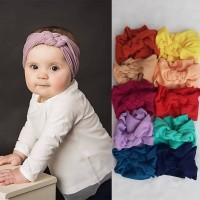 Bandana Anak Kepang 0-3th - Bando Bayi Perempuan - Aksesoris Rambut