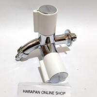 Kran Cabang Plastik New Soligen Kran shower - KERAN DOUBLE SOLIGEN S22