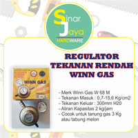Regulator Gas Winn Tekanan Rendah