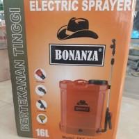 Electric sprayer / tanki elektrik BONANZA 16L / semprot disinfektan