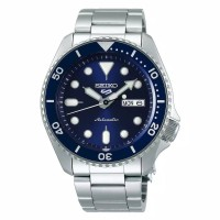 Jam tangan pria seiko edition 5 sports style automatic blue