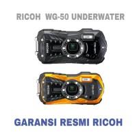 Dijual RICOH WG-50 WATERPROOF CAMERA Berkualitas