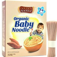 Hot Produk Golden Noodle Organic Sweet Potato Baby Misua Noodle (200G)