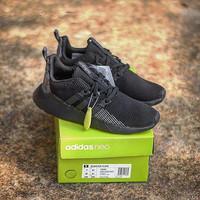 PROMO Sepatu Adidas Questar Flow full black ORIGINAL