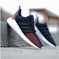 PROMO Sepatu Adidas Questar Flow navy midnight ORIGINAL