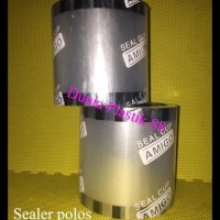 Diskon Sealer Polos Isi 1000Cup Tutup Gelas Plastik Cup Roll Lid