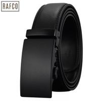 [KULIT ASLI] Ikat Pinggang Pria Automatic Buckle Belt Basic Black