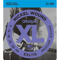D'Addario EXL115 011 - 049 Senar Gitar Elektrik D Addario Original USA