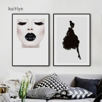 Kaitlyn☺Sexy Girl Dancer Wall Art Poster Canvas Painting Living