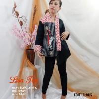 LISA TOP | ATASAN BATIK WANITA KOMBINASI