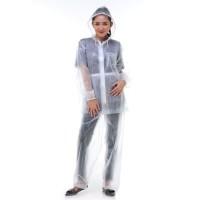 Jas Hujan Victory Rain City 69111 Setelan Jaket Celana Transparan Kuat