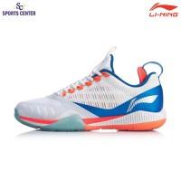 New Limited ! Sepatu Badminton Lining Cool Shark 2.0 AYAQ001-1 White