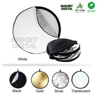 Reflector 5 in 1 80cm (wave gold)