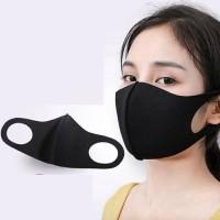 black mask Masker scuba kualitas premium
