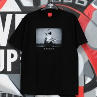 VISUAL Strapped Black Tee 100% Authentic