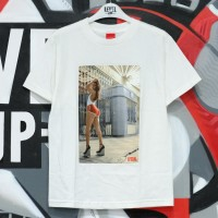 VISUAL Theater White Tee 100% Authentic