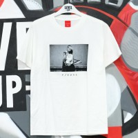VISUAL Strapped White Tee 100% Authentic