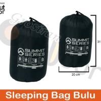 New Sleeping bag bulu / polar bulu / polar tebal