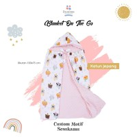 Blanket atau Selimut On The Go Katun Jepang PreOrder Bumbee Collection
