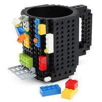 Gelas Mug Lego Build-on Brick Unik