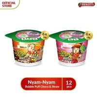 Arnott's Nyam-Nyam Bubble Puff Choco & Straw