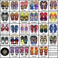 Size 38 Sandal Sancu Karakter / Sandal Lucu