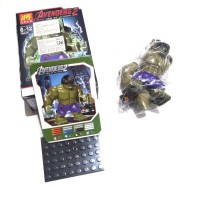 Lego Hulk the Avengers mainan action figure kW 1 lele