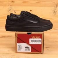 Sepatu Vans Old Skool Classic All Black BNIB UA Original