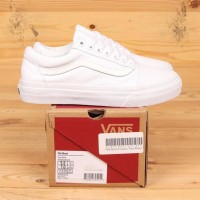 Sepatu Vans Old Skool Classic True White BNIB UA Original