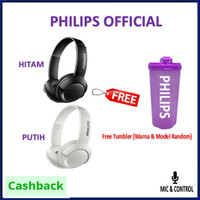 Philips SHB3075 BASS+ Wireless Headphones With Mic SHB 3075 Bass