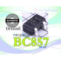 ORIGINAL BC857 3F BC857BW 65V 100mA PNP Transistors SOT-323 Nexperia