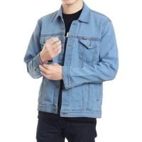 Jaket Jeans Denim Casual Pria Big Size - Bioblitz
