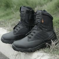 Sepatu Delta 8 Inchi Tactical Boots Panjang Hitam Original Import