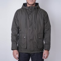 RAINAMI OLIVE JACKET WATER REPELENT