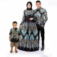 batik couple keluarga set anak cowok batik sarimbit baju anak