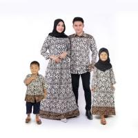 gamis batik couple baju keluarga baju sarimbit gamis kemeja dan anak