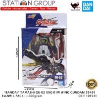 BANDAI TAMASHI GU-02 XXG-01W WING GUNDAM 55491 ACTION FIGURE