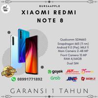 Xiaomi Redmi Note 8 4/64 RAM 4GB ROM 64GB Garansi Resmi