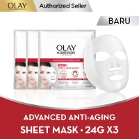 Olay Magnemask Infusion Advanced Anti Aging 24g Paket Isi 3