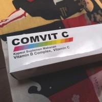 Comvit C Vitamin C 500mg Multivitamin box 100 cap