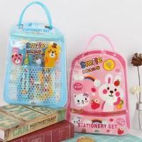 Set Alat Tulis Anak Lengkap / children's stationery set