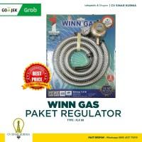 Regulator Selang Paket Winn Gas W 88 M - W88M ( Pakai Meter ) SNI