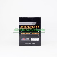 Aki Motor Harley Davidson MBTX30UHD / YB30LB Motobatt 12V 32Ah Aki Gel