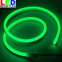 Lampu Led neon flex Rope light Custom Warna Hijau / Green meteran