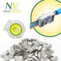 Neovision NV-RJ45 Connector RJ45 UTP/ FTP Cat 6 Anti Gagal Metal